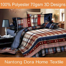 Popular luxurious comforter, 3D printed bedding set