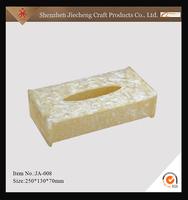 high quality hotel yellow acrylic wet tissue holder