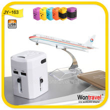 JY-163 best selling electronic products rubber coated 5V 2.5A dual usb charger, universal charger