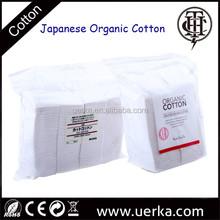 100% Japanese organic cotton for atomizer, koh gen do & muji cotton