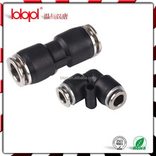 high quality plastic quick coupling pipe fitting,straight quick connect fitting,truck spare parts