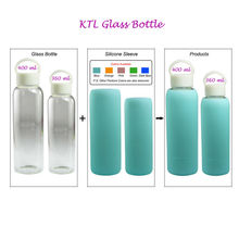 New Soft glass bottle silicone sleeve, silicone bottle sleeve,glass water bottle silicone sleeve