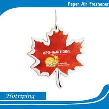 High quality factory OEM make hanging paper car air freshener