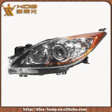 Used car sales high power car headlight, car headlight for mazda 3 2011 OEM: R BBP2510K0G L BBP2510L0G RD