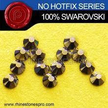 Hot Sale Swarovski Elements Metallic Blue (MLGLD) 34ss Flat Back Crystal No Hot Fix Rhinestone