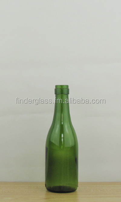 187ml mini glass bottle mini wine bottle empty 187ml wine