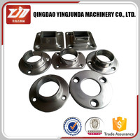 stainless steel handrail base plate round pipe base plate handrail post base plate