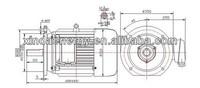 100kw 120kw 200kw High Speed Permanent Magnet Motor