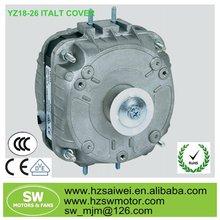 YZ16-25 4 pole shaded pole motor refrigerator parts