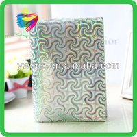 Yiwu wholesale custom plastic plain color book cover
