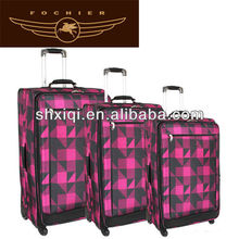 fashion valise 2012 for child with 4 wheels luggage