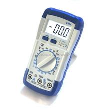 LCD Hand-held Digital Multimeter Volt Ohm Amp Meter Electrical Tester Multitester A830L