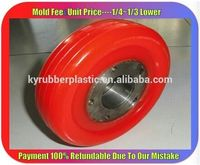 Custom PU Rubber Accessory / Polyurethane Product Manufacturer / Molded PU Part
