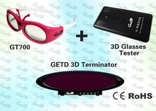 3D system with IR Emitter kit and 3D Glasses for 3D home theater,3D education