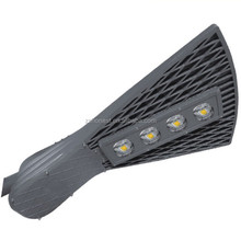 Fanshaped new style 200w led street light aluminum alloy good heat dissipation