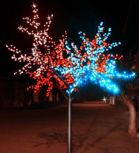 Awesome type & hot-selling colour change led cherry tree with decoration cherry remote control for home and garden decor
