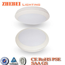 CE RoHS approved aluminm housing 2014 new style led ceiling light with sensor