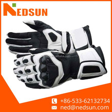 Safety road motorbike leather gloves, motorcycle racing glove