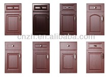PVC laminated MDF doors for customized kitchen cabinet,bathroom cabinet
