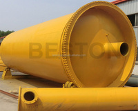 tyre retreading machine Tyre To Oil Machinery With Tyre Shredder mini oil refinery for sale