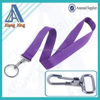 Create your own brand custom purple lanyard for id name card