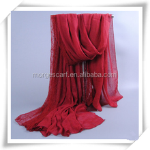 Factory Stocks lace Long Scarf Shawl, Can wear as a Hijab, Stock Many colors Wholesale Price