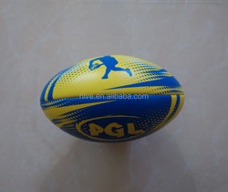 Mini rugby ball/Promotional PVC PU rugby ball/machine stitched rugby ball