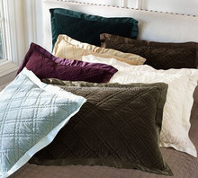 2015 Best Selling Silk Cushion Covers Silk Satin and Quilted Silk Velvet