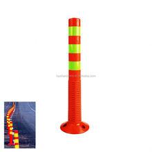 2015 Cheap Traffic Security Road Plastic Warning Bollard