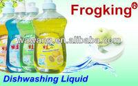 Frogking dishwashing detergent, liquid, different scent, 250 ml