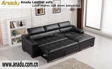 fashion living room furniture home theater sofa bed corner