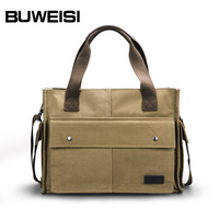 Best Brand Handbags Men's Hand Bag Cotton Canvas Made in China