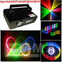 30kpps scanner with analog modulation 500mW RGB laser light/ disco light/club light