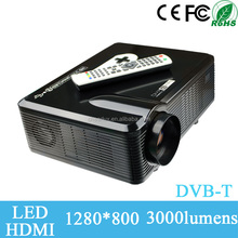 best selling led dynamics for auto projector 3000lumens, 720p full hd home theater used family fun and film for sale