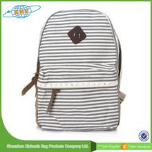 2015 Top Grade Teenage Girls School Bags, Canvas School Backpack Bag