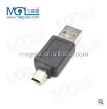 USB Connector usb A male to mini 5pin adapter