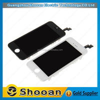 Quality guaranteed cell phone repair for iphone 5s lcd part,cell phone screen for iphone 5s