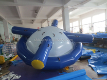 2015 new design inflatable water toys for water park peg top