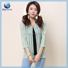 Fashion Casual Wild Slim Loose cashmere knitted Cardigan sweaters women coat