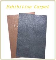 exhibition carpet with plastic film floor carpet for commerce