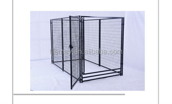 5' x 10' x 6' Heavy duty large outdoor pet kennel powder coated dog kennel