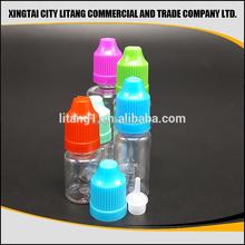 2015 new design e liquid bottles 30 ml for e-cigs liquids pet
