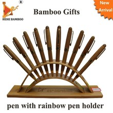 Recycled metal bamboo pen promotional gift ball pen