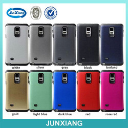 Hot new product 2015 Polka dot hybrid mobile phone Case for Samsung note 4