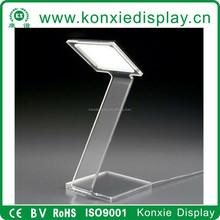 Modern acrylic dais lectern podium
