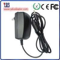 examples manufactured goods ac power supply/dc power supply external battery charger 9V 2A 18W 5.5*2.5 mm 1 year warranty