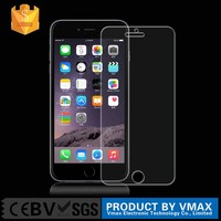 Hot new products mobile phone accessories clear tempered glass screen protector for iPhone 6s plus