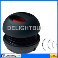 Rechargeable Portable Travel Mini Speaker MP3 SD FM for iphone USB Nokia Sony