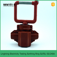 MK-IPCSLFDL-50/240A SLFDL Type Lightning Electricity Testing Earthing Ring(Piercing) IPC