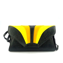 Handcee New Product Black PU Shoulder Bags For School